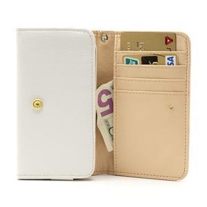 Softy univerzálne puzdro pre mobil do 137 × 71 × 8,6 mm - biele - 2