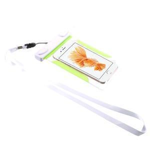 Nox7 vodotesný obal pre mobil do rozmerov 16.5 x 9.5 cm - zelený - 2