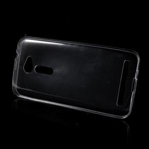 Ultra tenký slim gélový obal na Asus Zenfone 2 ZE500CL - transparentný - 2