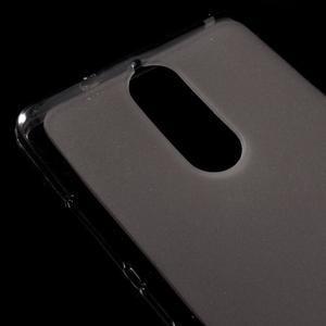 Matný gélový obal pre mobil Lenovo K5 Note - šedý - 3