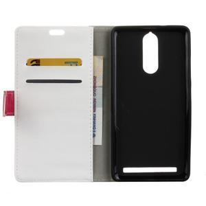 Colory knížkové pouzdro na Lenovo K5 Note - bílé - 3