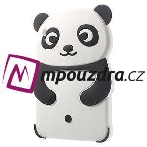 3D silikónové puzdro pre iPad mini 2 - čierná panda - 3
