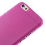 Ultra slim 0.3 mm plastové puzdro pre iPhone 6, 4.7  - ružové - 3/5