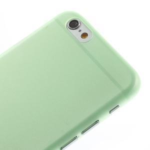 Ultra slim 0.3 mm plastové puzdro na iPhone 6, 4.7  - zelené - 3