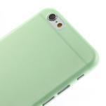 Ultra slim 0.3 mm plastové puzdro na iPhone 6, 4.7  - zelené - 3/5