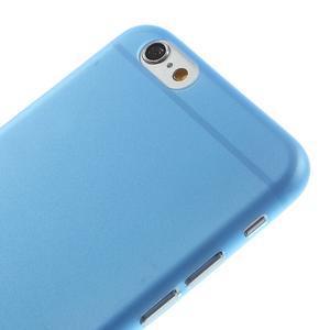 Ultra slim 0.3 mm plastové puzdro pre iPhone 6, 4.7  - modré - 3