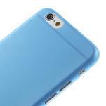 Ultra slim 0.3 mm plastové puzdro pre iPhone 6, 4.7  - modré - 3/3