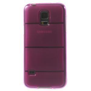 Gélové puzdro pre Samsung Galaxy S5 mini G-800- vesta ružová - 3