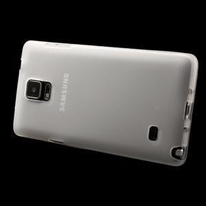 Gélové puzdro pre Samsung Galaxy Note 4- transparentný - 3
