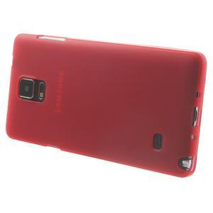 Gélové puzdro pre Samsung Galaxy Note 4- červené - 3