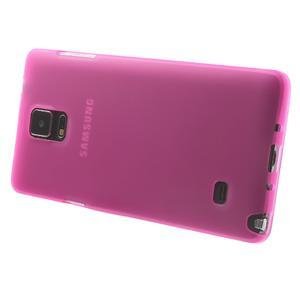 Gélové puzdro pre Samsung Galaxy Note 4- ružové - 3