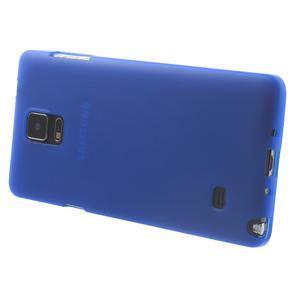 Gélové puzdro pre Samsung Galaxy Note 4- modré - 3