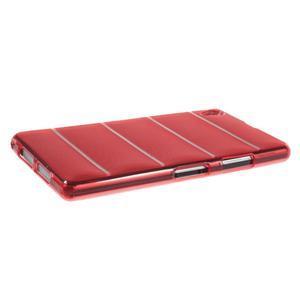Gélové Body puzdro pre Sony Xperia Z1 C6903 - červené - 3