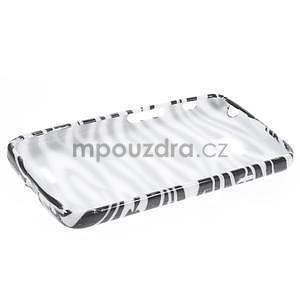 Gélové puzdro na LG L65 D280 - bílá zebra - 3