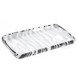 Gélové puzdro na LG L65 D280 - bílá zebra - 3/5