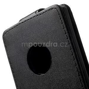 Flipové puzdro na Nokia Lumia 830 - čierné - 3