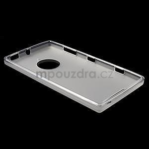 Gélové matné puzdro na Nokia Lumia 830 - transparentný - 3