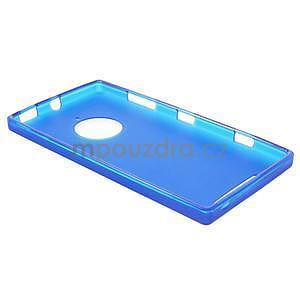Gélové matné puzdro na Nokia Lumia 830 - modré - 3