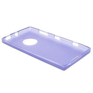 Gélové matné puzdro na Nokia Lumia 830 - fialové - 3