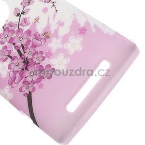 Gélové puzdro na Nokia Lumia 830 - kvitnúce vetvička - 3