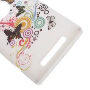 Gélové puzdro na Nokia Lumia 830 - motýlci - 3