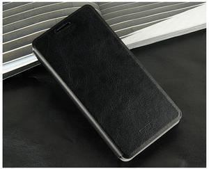 Flipové kožené puzdro na Xiaomi Mi4- čierné - 3