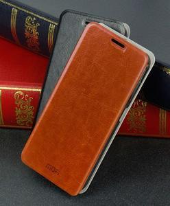 Flipové kožené puzdro na Xiaomi Mi4- hnedé - 3