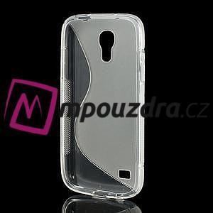 Gelové S-line pouzdro pro Samsung Galaxy S4 mini i9190, i9192, GT-i9195 - transparentní - 3