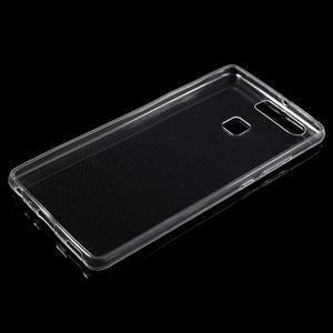 Ultratenký gélový obal na Huawei P9 - transparentné - 3
