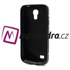 Gelové S-line pouzdro pro Samsung Galaxy S4 mini i9190, i9192, GT-i9195 - černé - 3