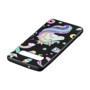 Printy gélový obal na mobil Samsung Galaxy S10 - jednorožec a sladkosti - 3