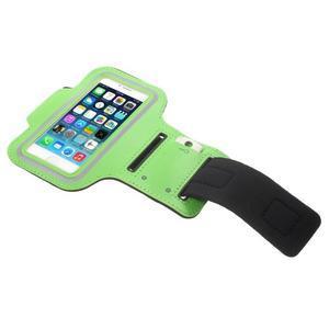 BaseRunning puzdro na ruku pre telefony do 125*60 mm - zelené - 3