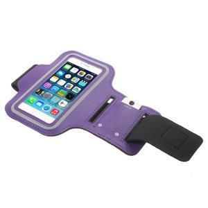 BaseRunning puzdro na ruku pre telefony do 125*60 mm - fialové - 3