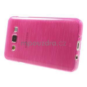Broušené puzdro na Samsung Galaxy A3 - rose - 3