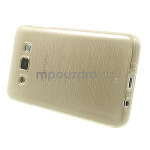 Broušené puzdro na Samsung Galaxy A3 - zlatá - 3