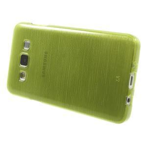 Broušené puzdro pre Samsung Galaxy A3 - zelená - 3