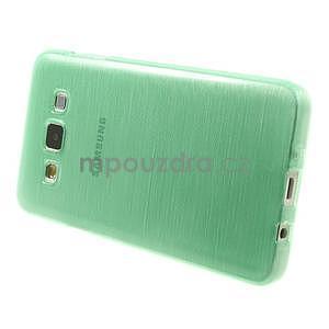 Broušené puzdro na Samsung Galaxy A3 - světle zelená - 3