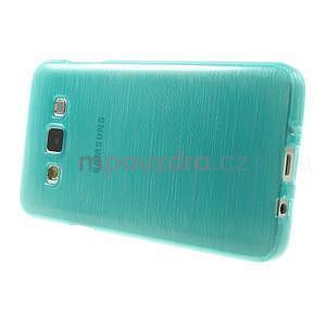 Broušené puzdro pre Samsung Galaxy A3 - tyrkysová - 3