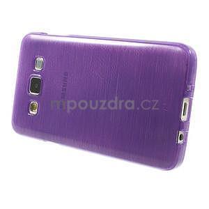 Broušené puzdro na Samsung Galaxy A3 - fialová - 3