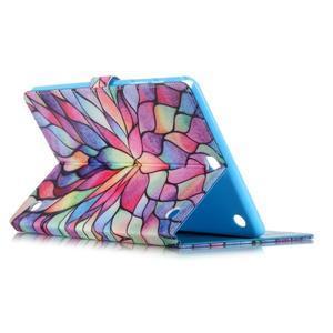Emotive puzdro pre tablet Samsung Galaxy Tab A 9.7 - malované kvety - 3