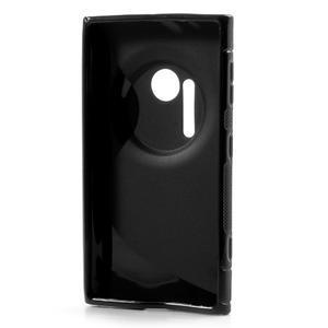 Gélové S-line puzdro pre Nokia Lumia 1020- čierné - 3