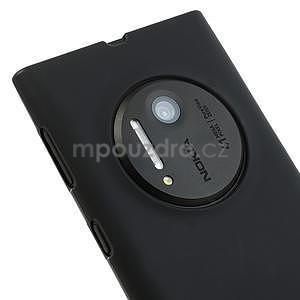 Gélové matné puzdro pre Nokia Lumia 1020- čierné - 3