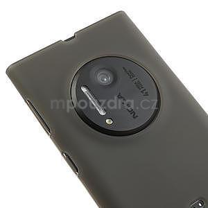 Gélové matné puzdro pre Nokia Lumia 1020- šedé - 3