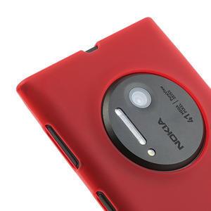 Gélové matné puzdro pre Nokia Lumia 1020- červené - 3