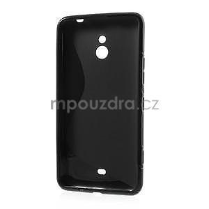 Gélové S-line puzdro pre Nokia Lumia 1320- čierné - 3