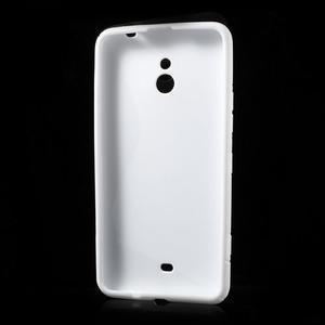 Gélové S-line puzdro pre Nokia Lumia 1320- biele - 3