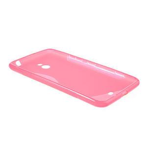Gélové S-line puzdro pre Nokia Lumia 1320- ružové - 3