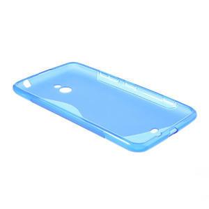 Gélové S-line puzdro pre Nokia Lumia 1320- modré - 3