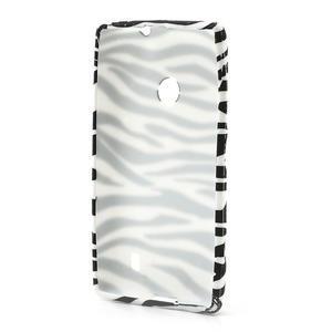 Gélové puzdro na Nokia Lumia 520- zebra - 3