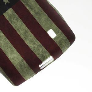 Gélové puzdro na Nokia Lumia 520- USA vlajka - 3
